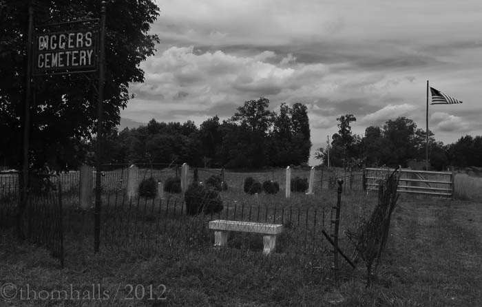 Bigger's Cementary, Rural North Carolina - Only seven graves, two of which have been disinterned and moved to other towns