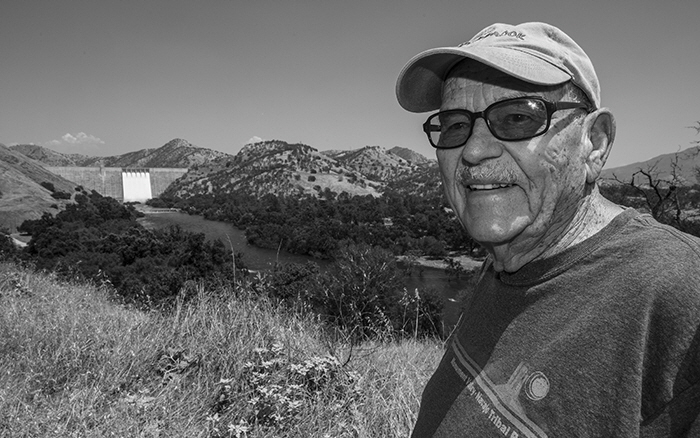 In the 1950's Pine Flat Dam changed the river. Paul Ruth remembers as a high school student watching the ceremoney as then Governor Earl Warren set off the first explosion of dynamite to prepare the hillsides.